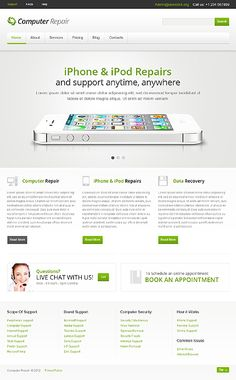 Computer Repair Joomla Template #website http://www.templatemonster.com/joomla-templates/41871.html?utm_source=pinterest&utm_medium=timeline&utm_campaign=comp