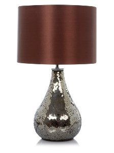 Buy George Home Large Bronze Mosaic Table Lamp from our Lighting range today from George at ASDA.