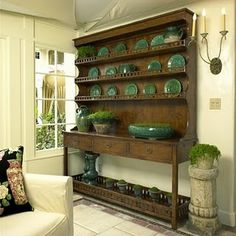 almost at top of wish list: a hutch for the dining room.