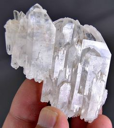 66 Grams Top Quality Beautiful Terminated Fadan Quartz Cluster From Pakistan