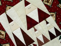 Free Christmas Quilt Patterns downloaded by license of istockphoto.com.