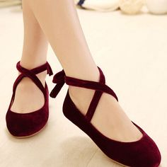 """how lovely are these flat doll shoes- click the link for more cute looks and use this coupon code """"Douniaabnaamar"""" to get all 10% off,Sponsor Review and Affiliate Program open there!"""