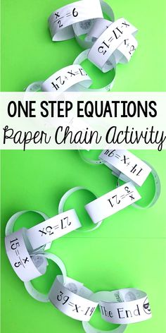 50 Best one step equations images   Solving equations, Algebra ...