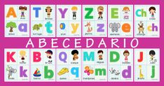 ABECEDARIO COMPLETO EN PDF IMPRIMIBLE. DESCARGAR GRATIS. Reading Worksheets, Kindergarten Reading, Bingo, Kids Rugs, Education, Books, Frozen, Google, Humorous Pictures