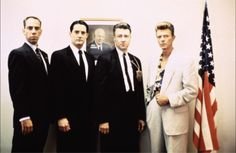 We could be heroes.                          Yep, pity that 2 of these 4 gentlemen are no longer with us though!