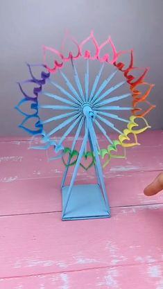 Diy Crafts Hacks, Diy Crafts For Gifts, Diy Arts And Crafts, Creative Crafts, Fun Crafts, Art And Craft Videos, Diy Videos, Paper Crafts Origami, Paper Crafts For Kids