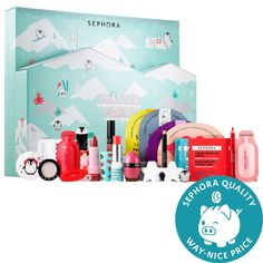 Shop Sephora Collection's Frosted Party Advent Calendar at Sephora. The advent calendar is back again with 24 frosted beauty surprises, something to enjoy every day while counting down until the Holidays. Advent Calendars For Kids, Beauty Advent Calendar, Kids Calendar, Calendar Ideas, Calendar Printable, Holiday Gift Guide, Holiday Fun, Holiday Gifts, Yves Rocher