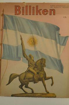 Billiken.Querido general San Martín, nunca te olvidaremos, MUCHAS GRACIAS .Como nos gustaba cantar el Himno Nacional y todas las canciones patrias. Con qué orgullo saludábamos a  la Bandera !!!.
