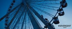 New DIVERGENT Still of Tris and Four on the Ferris Wheel