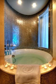 The tub...