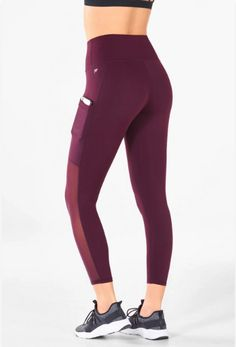 caa5a56c590ab High waist leggings that are slimming and will keep you comfortable  throughout your workout. Features