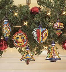 Talavera Ornaments And Tree