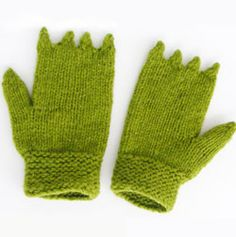 GATOR mittens from Morehouse Farms merino kits