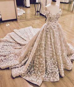 Ehsan Chamoun Haute Couture #bridalgown
