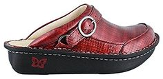 Alegria Womens Seville Cherry Cube ClogMule 36 US Womens 665 Regular -- Click on the affiliate link Amazon.com on image for additional details.