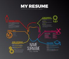 5 Tips On Writing A Fantastic Resume-Human Resources - Modern HR Cv Design Template, Powerpoint Design Templates, Resume Layout, My Resume, Simple Resume, Creative Resume, Free Infographic Templates, Learn Animation, Graphic Design Resume