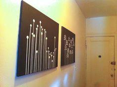 Simple Easy DIY Wall Art