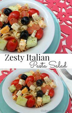 The absolute best Italian Pasta Salad