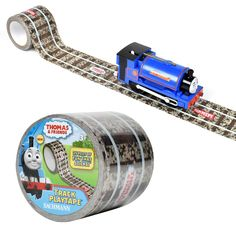 <p>PlayTape<span>®</span>- Fun that Sticks!™</p>  <p>Cool kid conductors can take the train anywhere with innovative, award-winning PlayTape! Thomas & Friends!™ Track PlayTape<span>®</span>lets young engineers instant