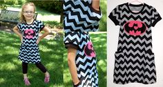 with love...batman t-shirt dress. 2 side pockets and batman symbol