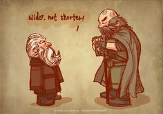 Balin and Dwalin by ~haleyhss on deviantART