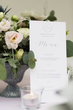 Bespoke calligraphy and handwritten stationery for weddings and events. Wedding Menu, Stationery, Place Card Holders, Calligraphy, Table Decorations, Collection, Penmanship, Stationery Shop, Paper Mill