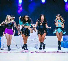 Little Mix at Summertime Ball 2015