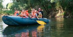 Schlauchboot-Tour Freyburg #Abenteuer #Boote #Bootsfahrt