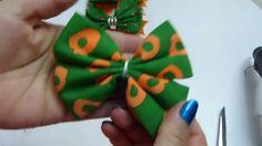 Como hacer Moños perfectos con tela, Lazos Elegantes con tela y Liston
