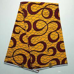YBGHA-61 New African Wax Print Fabric,Ankara Fabrics Batik Super Hollandais Wax…