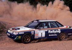 Colin McRae . Subaru Legacy Turbo 1990