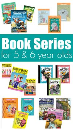 Great book series for 5 & 6 year olds, these are fun, silly, engaging books for kids in kindergarten and first grade. I know because my kids couldn' Read Aloud Books, Good Books, Learn To Read Books, Books For Boys, Childrens Books, Book Series For Girls, Kids Chapter Books, Kindergarten Books, Kids Reading