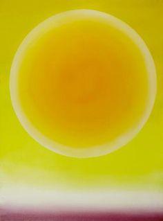 Roman Artymowski  -  Upał IV (Heat IV)    acrylic on canvas, 1980.