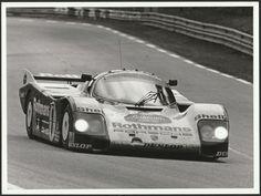 LE MANS 24 1986 #1 ROTHMANS PORSCHE 962 AL HOLBERT BELL STUCK PERIOD PHOTOGRAPH