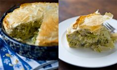 Recipes for Health - Greek Cabbage Pie With Dill and Feta - NYTimes.com // sounds like something I'd eat...and totally love it hehehe