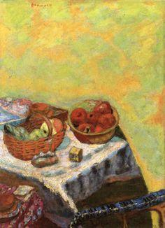 Basket of Fruit in the Sun / Pierre Bonnard - circa 1927