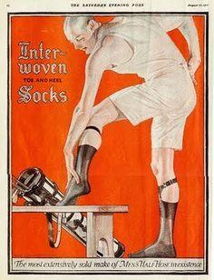 vintage sock garders adds - Google Search