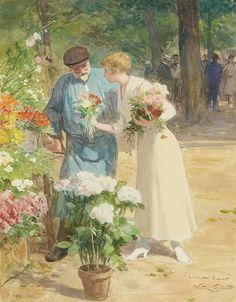 Victor Gilbert - Marché aux fleurs #8