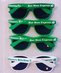 Anniversary Gifts, Engagement Gifts, Personalized Sunglasses for Guests at Parties by customsunglasses on Etsy
