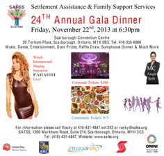 FRI, NOV 22, SEE FARAHRI Perform LIVE at the #SAFSS Gala Dinner!! Get ur tickets today!! @FundraiserRocky DONT MISS IT!! Family Support Services, Door Prizes, Gala Dinner, Convention Centre, Singing, Posters, Entertaining, Live, Poster