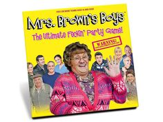 Paul Lamond Mrs Brown's Boys The Ultimate Party Board Game Adult Gift Boy Party Games, Mrs Browns Boys, Jumanji Board Game, Comedy Tv Series, Catan Board Game, Murder Mystery Games, Classic Comedies, Family Boards, The Settlers