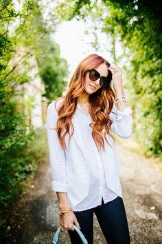 crisp white vest | www.LittleJStyle.com