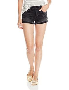 Joes Jeans Womens Japanese Denim Charlie Short In Amaya Faded Black 26 -- Learn more by visiting the image link.
