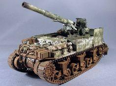 M12 155mm Gun Motor Carriage Self-Propelled Howitzer (USA)