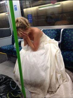novia triste