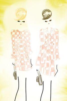 Wearing Louis Vuitton Spring 2013 #fashion #bybc
