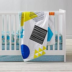 Creature Comfort Crib Bedding  | The Land of Nod