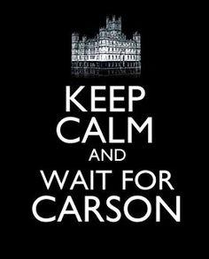 Downton abbey...hahahaha....best Keep Calm I've seen...
