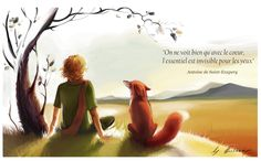 Little prince . The Little Prince Quotes . Little Prince Quotes, Little Prince Fox, Citation Saint Exupery, St Exupery, Somewhere Only We Know, Prince Images, Jolie Phrase, Hd Quotes, Lily Allen