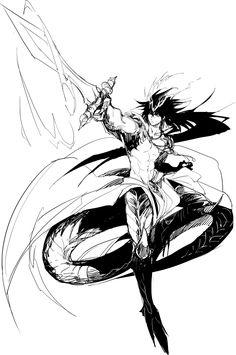 Sinbad - Magi: The Labyrinth of Magic Magi 3, Sinbad Magi, Aladdin Magi, Anime Magi, The Kingdom Of Magic, Anime Tattoos, Manga Pages, Best Waifu, Manga Illustration